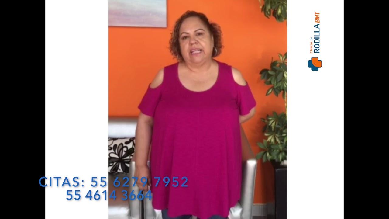 En Chihuahua también tenemos testimonios de recuperación @Clínicas de Rodilla BMT