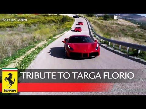 Ferrari Tribute to Targa Florio 2015