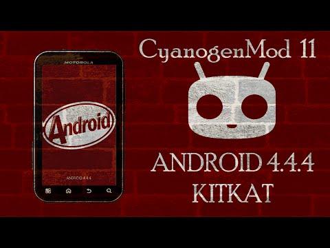 INSTALAR ANDROID 4.4.4 KITKAT PARA MOTOROLA DEFY MB526 | MB525