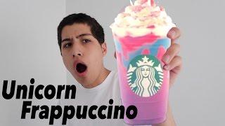 スタバの新作 Unicorn Frappuccino はウチらの物