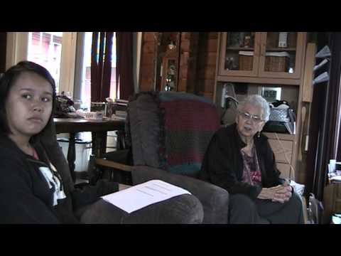 Potlach - Interview with Helen Clifton, Hartley Bay Elder