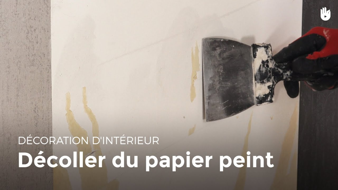 d coller du papier peint bricolage youtube