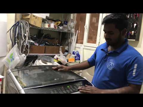 How To Fix LG Top load washing machine's spinner, to repair it watch this video