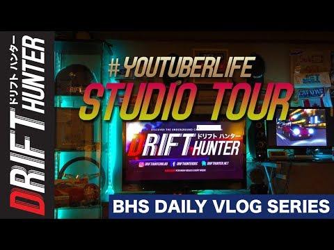 STUDIO TOUR | Drift Hunter BHS Daily Vlog #3
