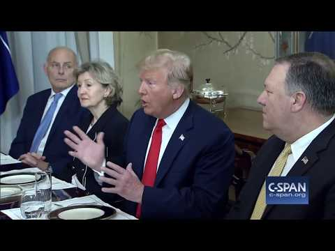 Word for Word: President Trump Strongly Criticized Germany at Start of NATO Summit (C-SPAN)