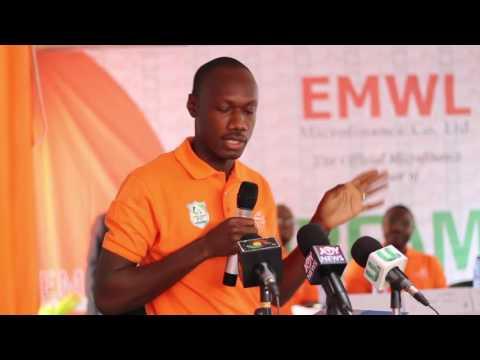 EMWL microfinane partnership deal with Dreams FC