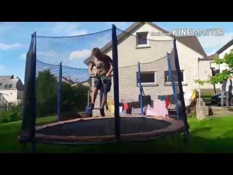 NoahD short trampoline edit 2k17