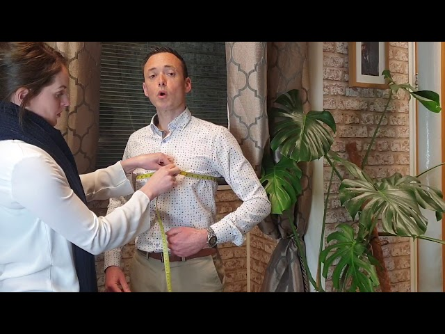 How To Measure For a Waistcoat
