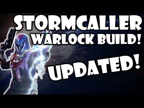 Destiny updated warlock stormcaller class build pvp youtube - Warlock stormcaller ...