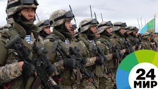 В Казахстане завершились крупнейшие военные учения «Айбалта» - МИР 24