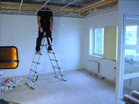 TELESTEPS COMBI A字梯1 最in!裝潢公司 必用 瑞典 裝潢五金 操作影片 寶豐專業裝潢五金