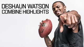 Deshaun Watson (Clemson, QB) | 2017 NFL Combine Highlights