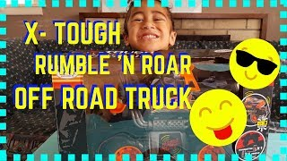 X-TOUGH RUMBLE N ROAR OFF ROAD TRUCK MONSTER TRUCK [Toys, Family Fun & Games by 7]