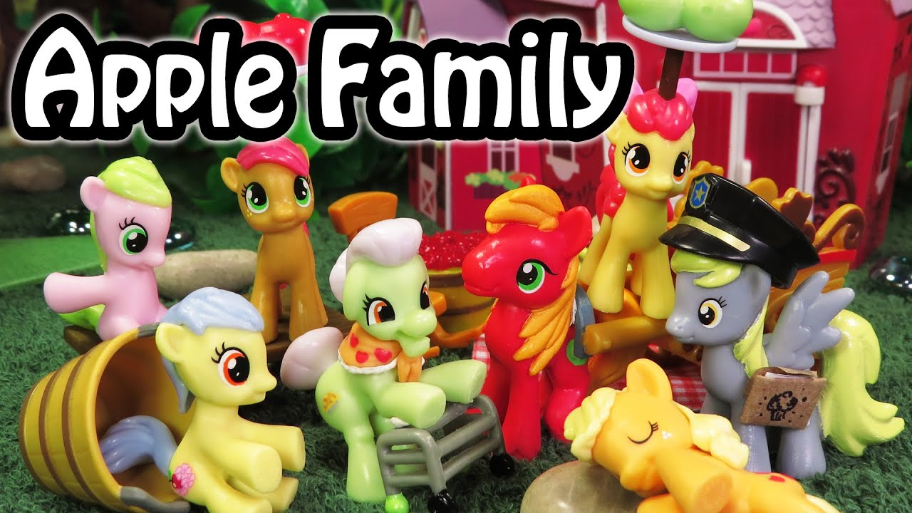 My Little Pony Apple Family Accessory Packs Applejack