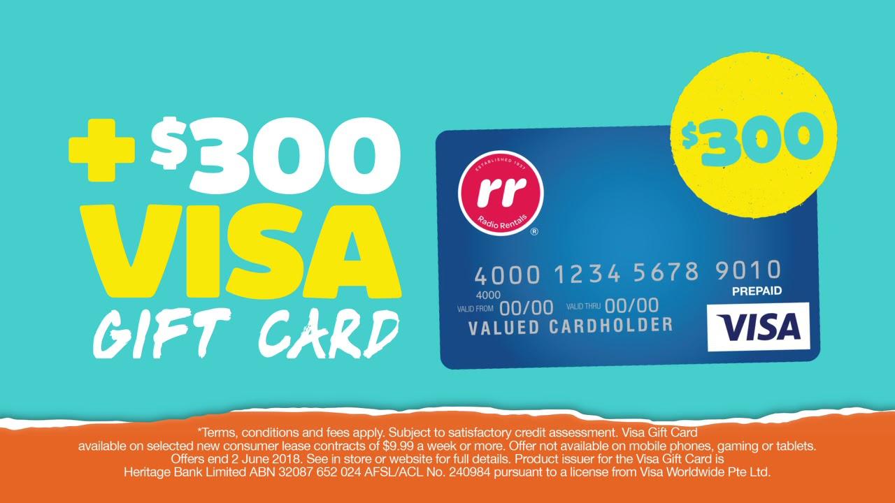 one month rent free 300 visa gift card 15 sec - 15 Visa Gift Card