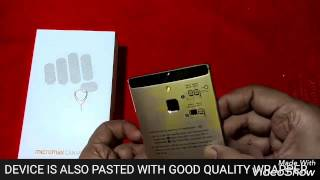 MICROMAX CANVAS 6 UNBOXING IN HINDI
