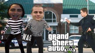 krademo od policije   gta 5 zezanje