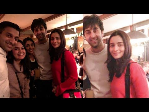 Lovebirds Ranbir Kapoor and Alia Bhatt celebrating their first new year together in NewYork