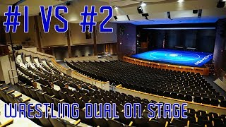 #1 vs #2 Wrestling Dual on Stage - Wrestling Vlog - Nebraska High School Wrestling - Episode 6