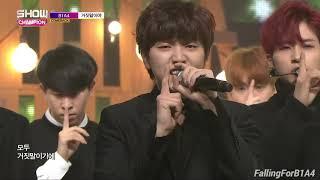 B1A4 (비원에이포 ) - A Lie (거짓말이야)  Stage Mix