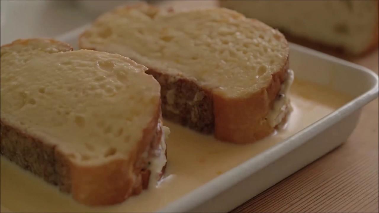 Bánh mì gối French Toast kiểu Pháp