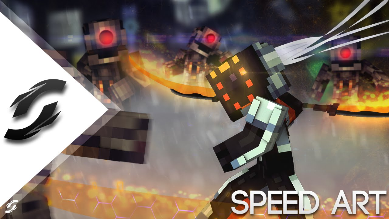 Speed Art Project Yi League Of Legends By Synergy Youtube