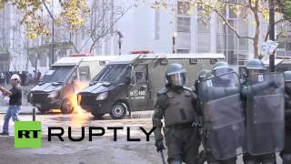 Chile: President faces first major student protest