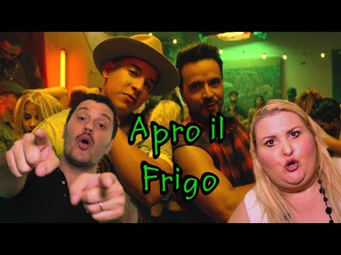 Despacito parodia APRO IL FRIGO by Federico Saliola & Sabrina Antonetti OFFICIAL