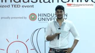 Culture & Fashion - The Entire Spectrum | Mr. Satkrit Narayan | TEDxHindustanUniversity