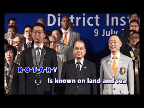 Rotary Song (Karaoke Version) Rotary International District 3450  2016