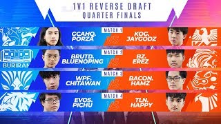 1v1 Reverse Draft Quarterfinals | RoV Pro League 2020 Summer