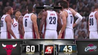 HISTORIC DOMINATION 007 CLEVELAND CAVALIERS