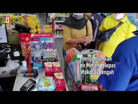 Penduduk Kuching bersedia hadapi kemungkinan PKP