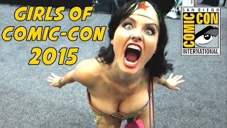 The Girls of Comic-Con 2015 (Part 1)