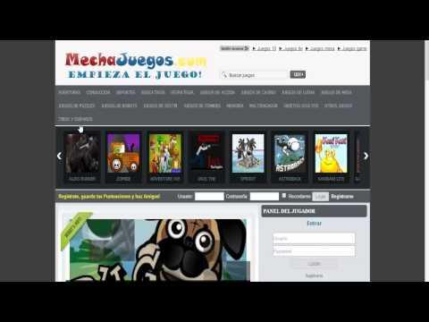 Juegos, JUEGOS y más JUEGOS GRATIS (Pagina de Juegos Online Gratis) Videos De Viajes