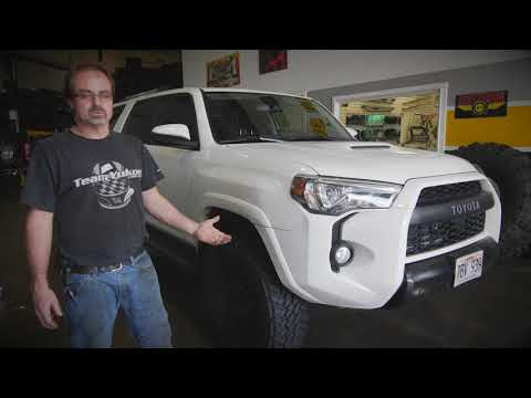 """TRD PRO 4Runner with Toytec 2"""" lift, 285/70 Nitto Trail Grapplers"""