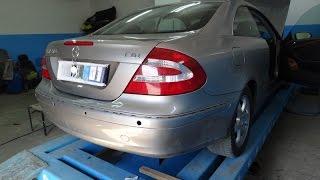 Mercedes-Benz CLK 270. ремонт пластика.(видео вчерашнего дня. для поисковика риховка заз ваз споттер..., 2015-07-02T17:28:06.000Z)