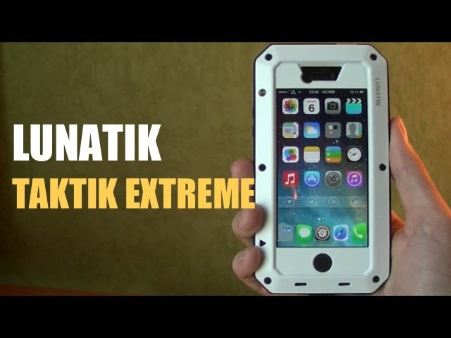 LUNATIK TAKTIK EXTREME ▻ Coque anti choc intégrant même une vitre ...