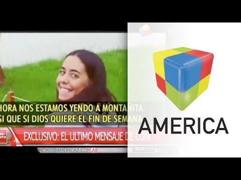 Crimen de las turistas argentinas: El último mensaje de María José