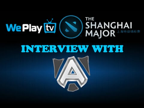 The Shanghai Major: Interview with Alliance (Русские субтитры)
