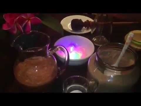 como hacer pinolillo con cocineranicaragüense Myriam Moreno