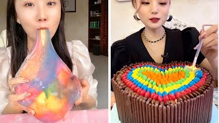 Kwai eating chocolate АСМР еда подборка МУКБАНГ АСМР ТОРТ Kwai Mukbang