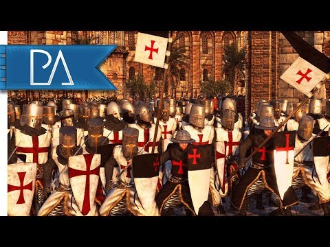 Crusaders Besieged By Saracen Forces: Desperate Last Stand - Medieval Kingdoms Total War 1212AD