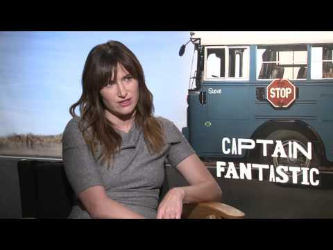 """Captain Fantastic"" Interview with Kathryn Hahn!  I Just Love Her!"