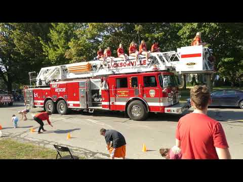 Jacksonville IL Homecoming Parade 2017