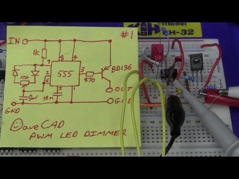 EEVblog #392 - 555 LED PWM Hack