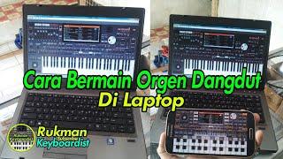 Tutorial Bermain Music Studio - Bermain Orgen Dangdut Di Laptop