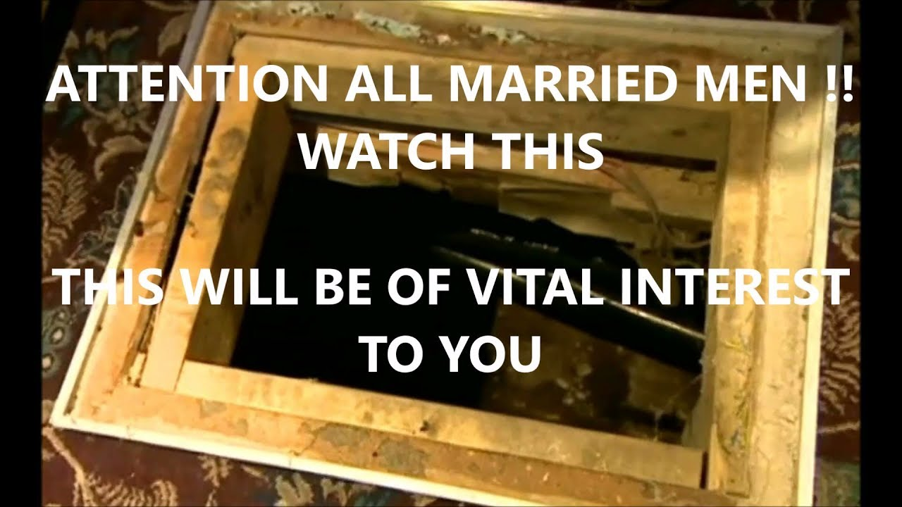 MARRIED MEN WATCH THIS !!  Pub Escape Tunnel
