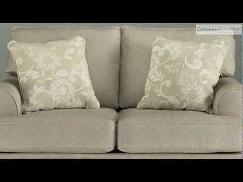 Candlewick Linen Living Room Collection from Signature Design by Ashley