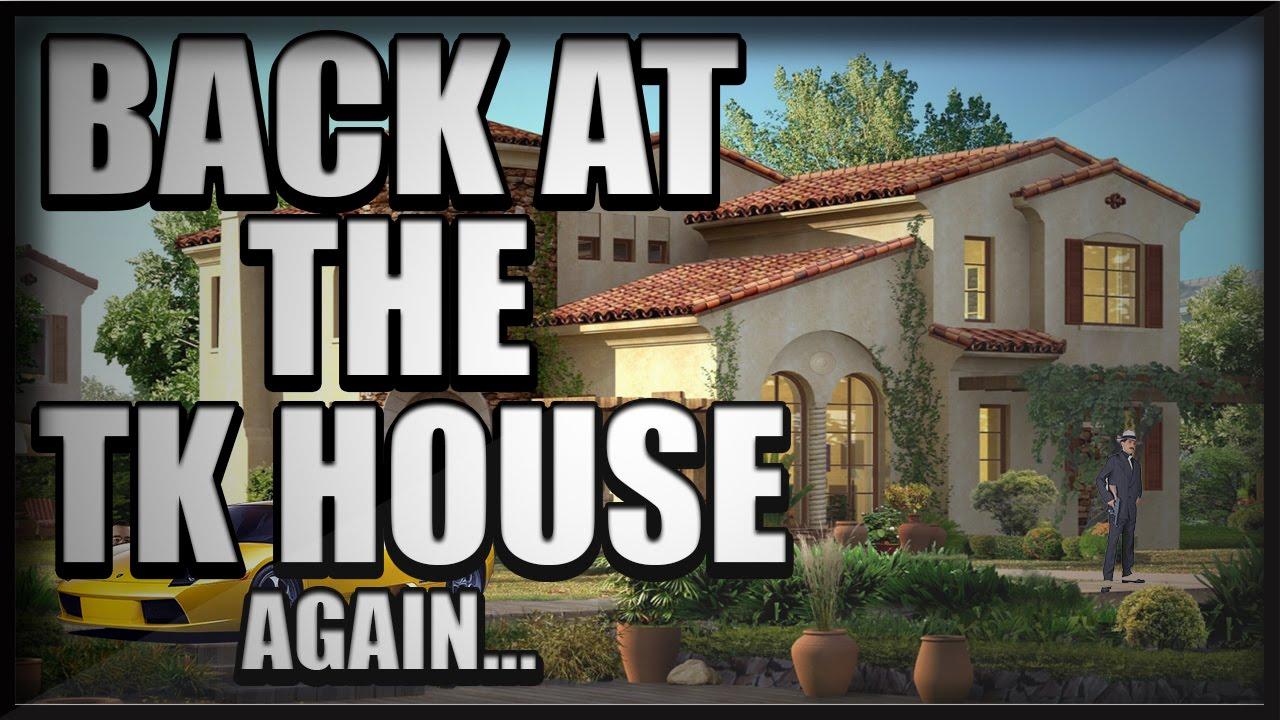 Back at the tk house again youtube for Tk homes floor plans